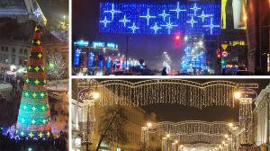 Wielka iluminacja Warszawy