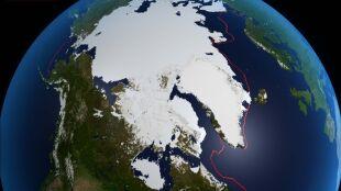 Arktyka coraz bardziej zielona