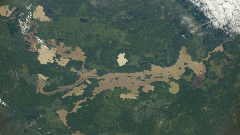Jezioro Sandy i okolice