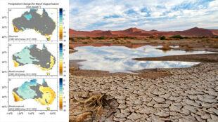 Globalne ocieplenie wysusza Australię