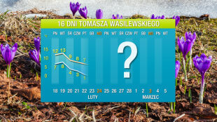 Prognoza pogody na 16 dni: na razie ciepło w natarciu