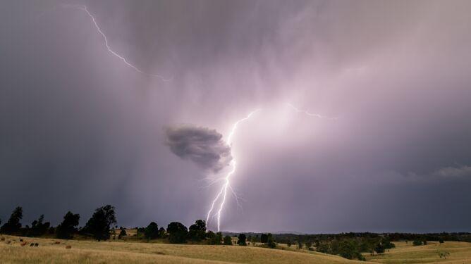 Stopniowe ocieplenie, lokalne burze i wietrzny koniec tygodnia