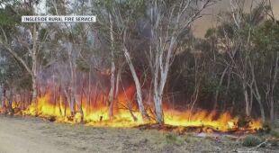 Strażacy mają nadzieję na zapanowanie nad szalejącymi pożarami