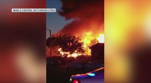 Pożar w Ridgecrest